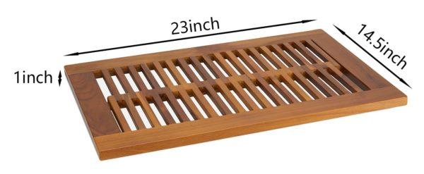 The GRIM, Teak Shower Mat 23
