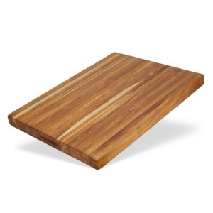 Extra large teak cutting board for chopping - TeakCraftUS