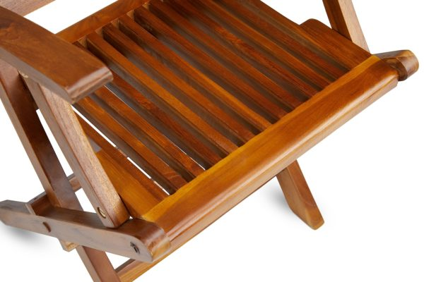 The MILLENNIUM, Teak Folding Arm Chair