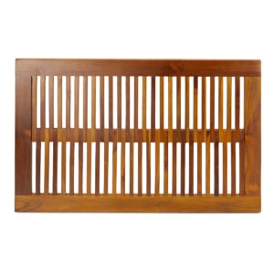 teak shower mat for inside shower - TeakCraftUS