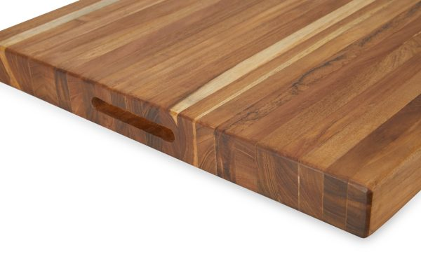 Buy Teak Cutting Board Extra-Large (24 inch) Online - TeakCraftUS