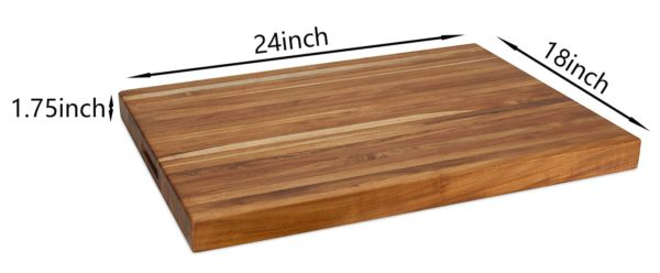 The LEIF, Teak Cutting Board Extra-Large (24 inch)