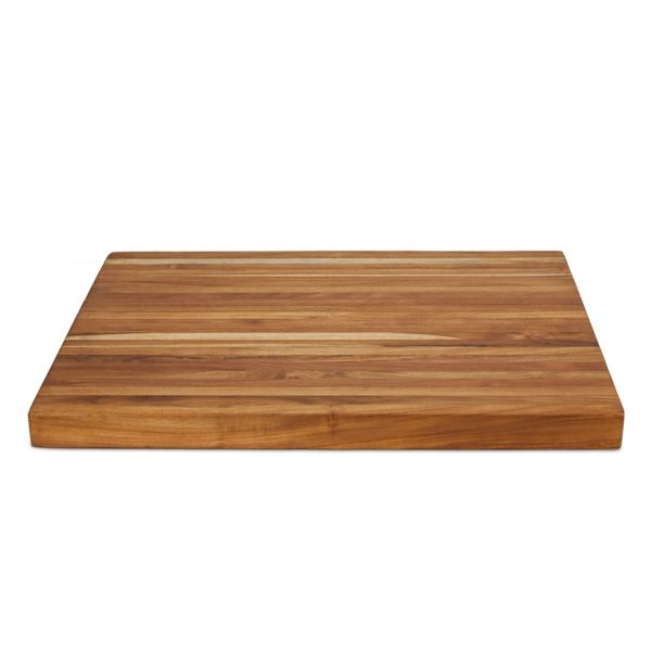 Modern teak cutting board for your daily food preparation - TeakCraftUS