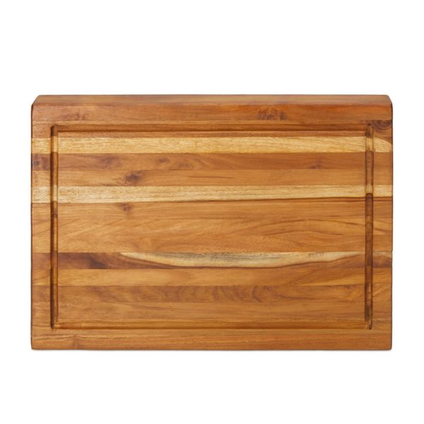 Indonesian Teak Wood Cutting Board with Juice Groove