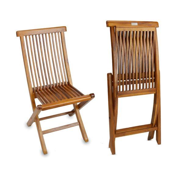 Teak Wood Folding Chair for Indoor and Outdoor - TeakCraftUS