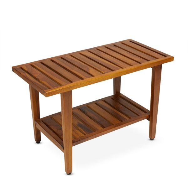 teak shower bench for your Home or Spa - TeakCraftUS