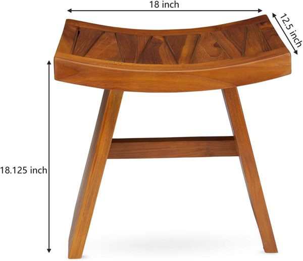The TORI, Teak Wood Shower Bench