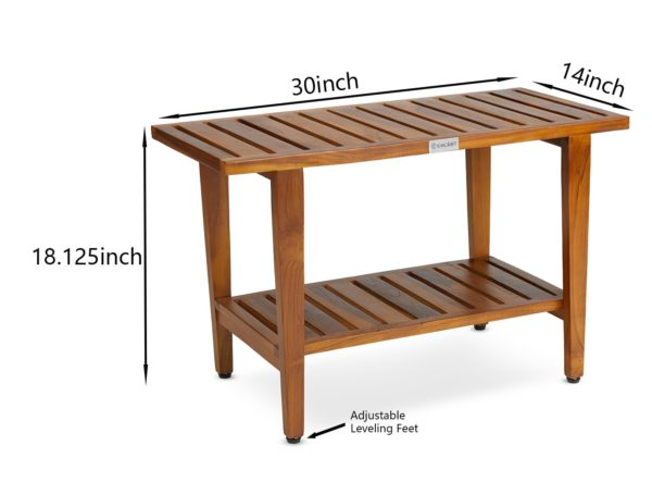 Buy The LIV, Teak Shower Bench 30 inch Online - TeakCraftUS