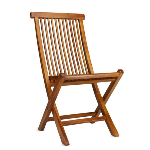 Teak Wood Folding Chair for Outdoor Patio