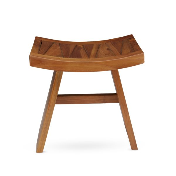 Buy Teak Wood Shower Bench Online - TeakCraftUS