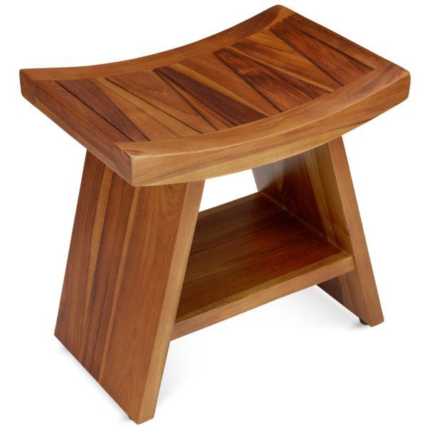 contemporary teak shower benches online - TeakCraftUS