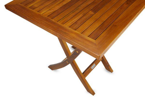 The DAG, Teak Folding Table (Fully Assembled)