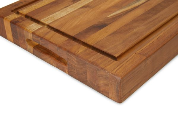 Teak Wood Cutting Board with Juice Groove