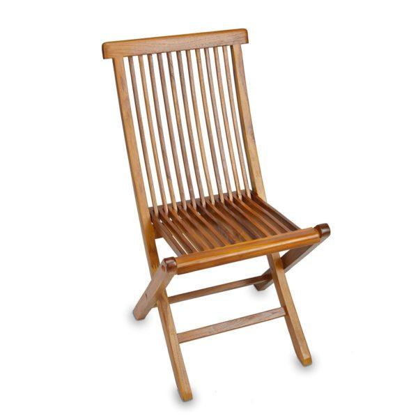 Comfortable Teak Wood Folding Chair for Garden Outdoor