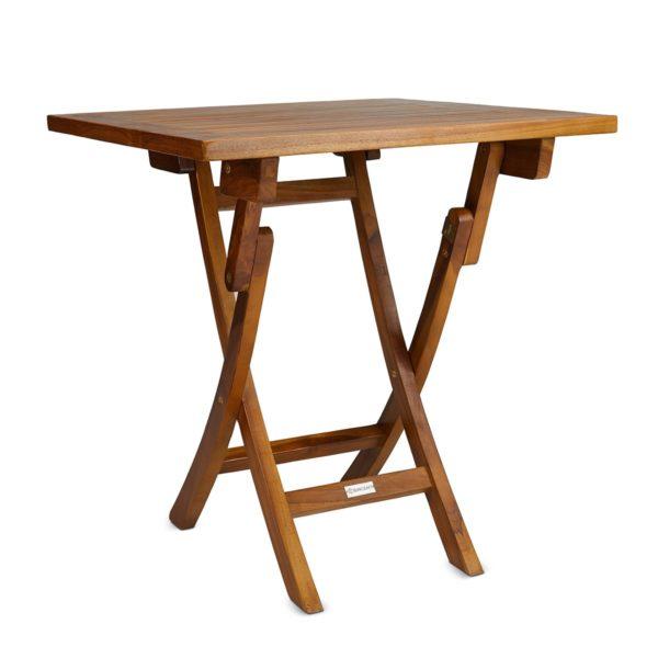 best teak folding table outdoor use - TeakCraftUS