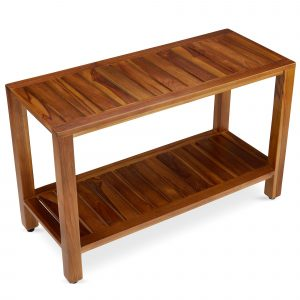 Freya - Teak Shower Bench for Sale - TeakCraftUS