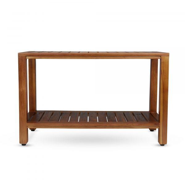Buy teak shower bench online - TeakCraftUS