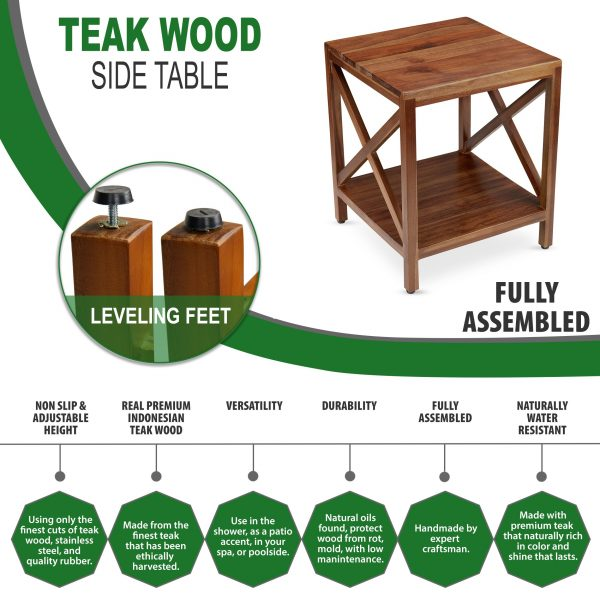 The Friig - Teak Wood Side Table